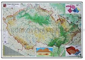 Mapa ČR magnetická popisovacia 138 x 94 cm