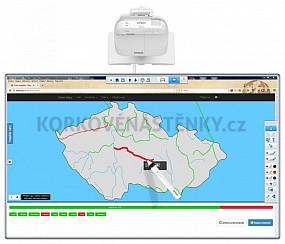 Interaktívna tabuľa WB 200x120 STENA EPSON EB-695Wi