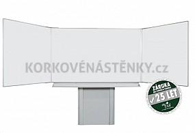 Magnetická tabuľa pre popis fixom TRIPTYCH K 200 x 120 cm