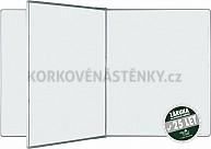 Magnetická tabuľa so stredným krídlom PIVOT KB 240 x 120 cm