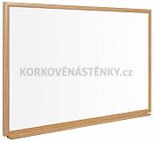 Nemagnetická tabuľa popisovacie drevený rám 32 mm (60 x 45 cm)