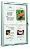Magnetická vonkajšia vitrína Classic V 830 x 980 mm - jednokrídlová (8x A4)