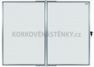 Magnetická tabuľa DUO KB/KB 90 x 120 cm