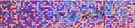 Magnetický pásik 600 x 15 mm - trblietavo ružový