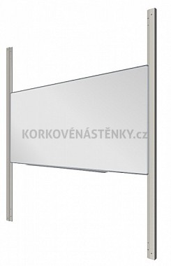 Magnetická tabule MANAŽER K/PYLON AL 300 x 120 cm
