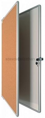 Magnetická tabuľa DUO KB/KOR 90 x 120 cm