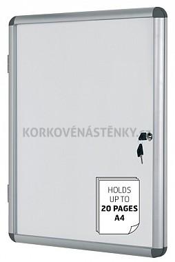 Magnetická vnútorná vitrína Enclore 720 x 674 mm (6x A4)