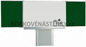 Magnetická tabule TRIPTYCH K VI. 200 x 100 cm