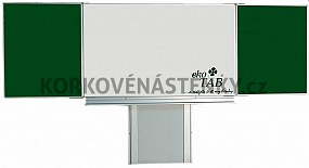 Sestava magnetické tabule TR K III. 200 x 120 cm
