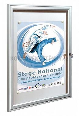 Magnetická vnitřní vitrína Reference V 400 x 550 mm (2x A4)