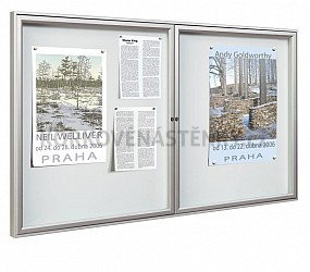 Magnetická vnitřní vitrína Reference V 1050 x 1400 mm (18x A4)