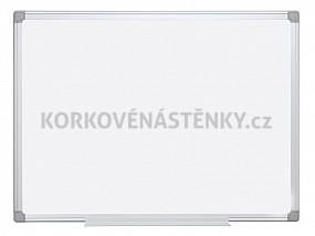 Magnetická tabule Al rám 120 x 90 cm s poličkou