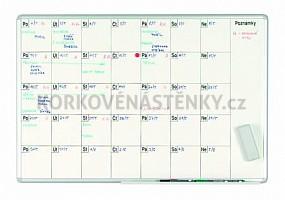 Plánovací tabule měsíční PK L 70 x 100 cm