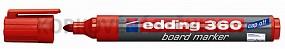 Popisovač Edding 360 červený (plniteľný)