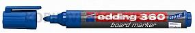 Popisovač Edding 360 modrý (plniteľný)