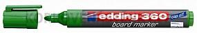 Popisovač Edding 360 zelený (plniteľný)