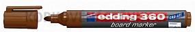 Popisovač Edding 360 - hnedý