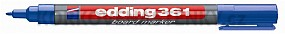 Popisovač Edding 361 modrý (plniteľný)