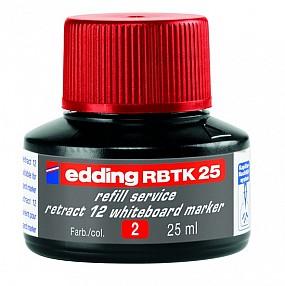 Atrament RBTK 25 - červený