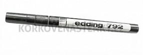 Permanentný popisovač Edding 792 (čierny)