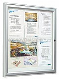 Magnetická venkovní vitrína Tradition V 1050 x 750 mm - jednokřídlá (9x A4)