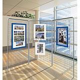 Prezentačná výstavná mreža pre vitríny (3 ks)