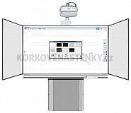 Interaktivní sestava TRIPTYCH K 200x120 zvedací AL EPSON EB-695Wi (dotyk)