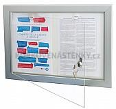 Magnetická vnitřní vitrína Eco 100 V 386 x 550 mm (2x A4)