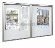 Magnetická vnitřní vitrína Reference V 1200 x 750 mm (8x A4)