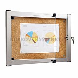 Korková vnútorná vitrína Media V 976 x 772 mm (9x A4)