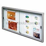 Magnetická vnútorná vitrína Classic V 750 x 1400 mm (12x A4)