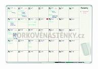 Plánovacia tabuľa mesačná PK K 70 x 100 cm