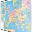 Mapa EURÓPY magnetická popisovacia 115 x 84 cm