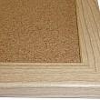 Korková nástěnka dřevěný rám Exclusive 150 x 100 cm